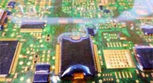 Изделие, залитое эластичным компаундом ЗЛК-90/1 для защиты от внешних воздействующих факторов